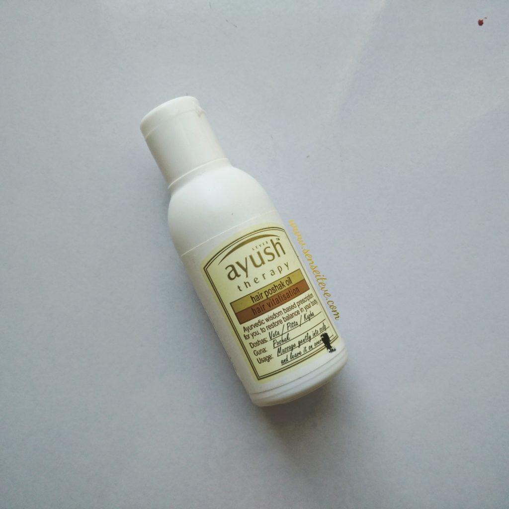 Lever Ayush Hair Poshak Oil Review
