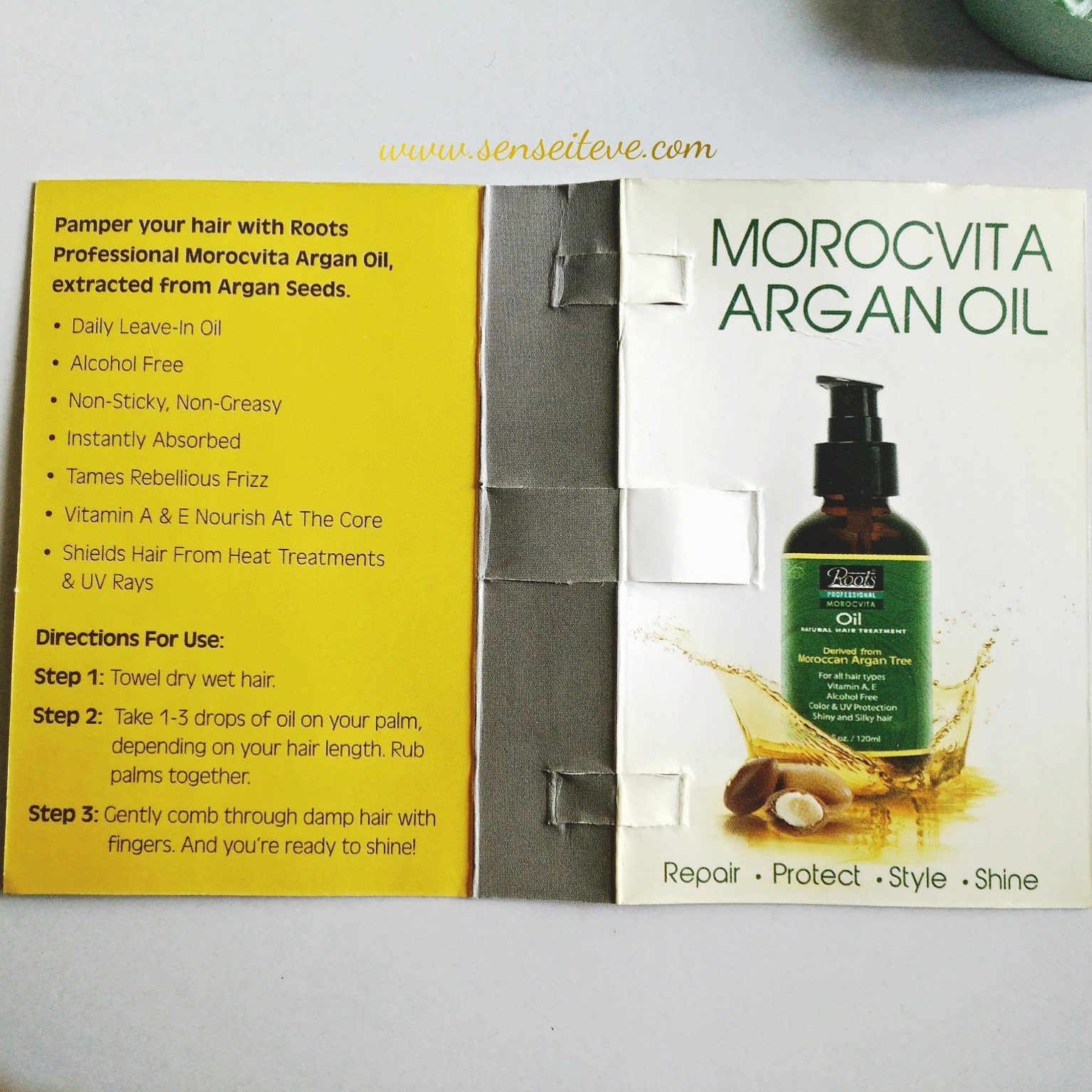 Roots Professional Morocvita Argan Oil