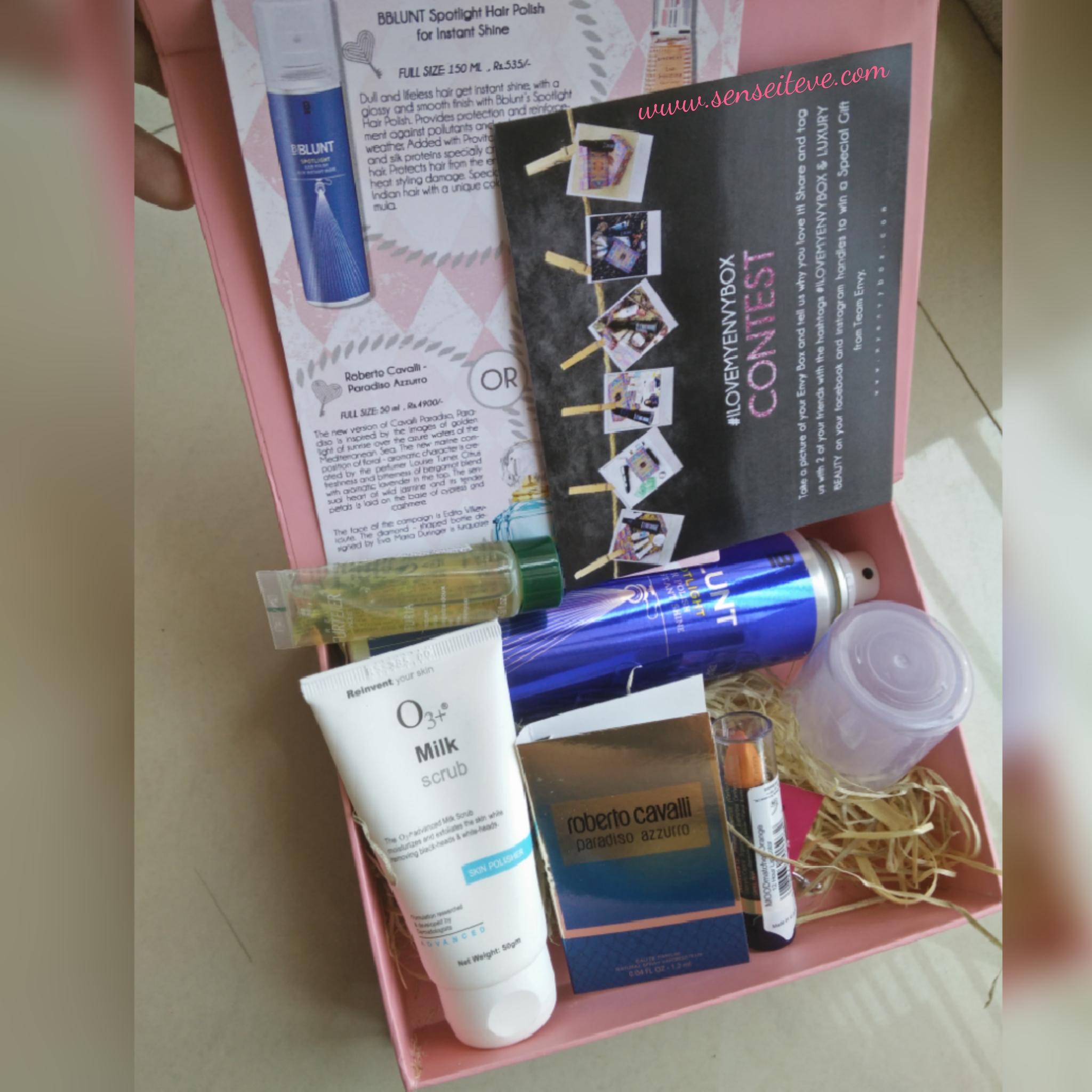 My Envy Box April 2016