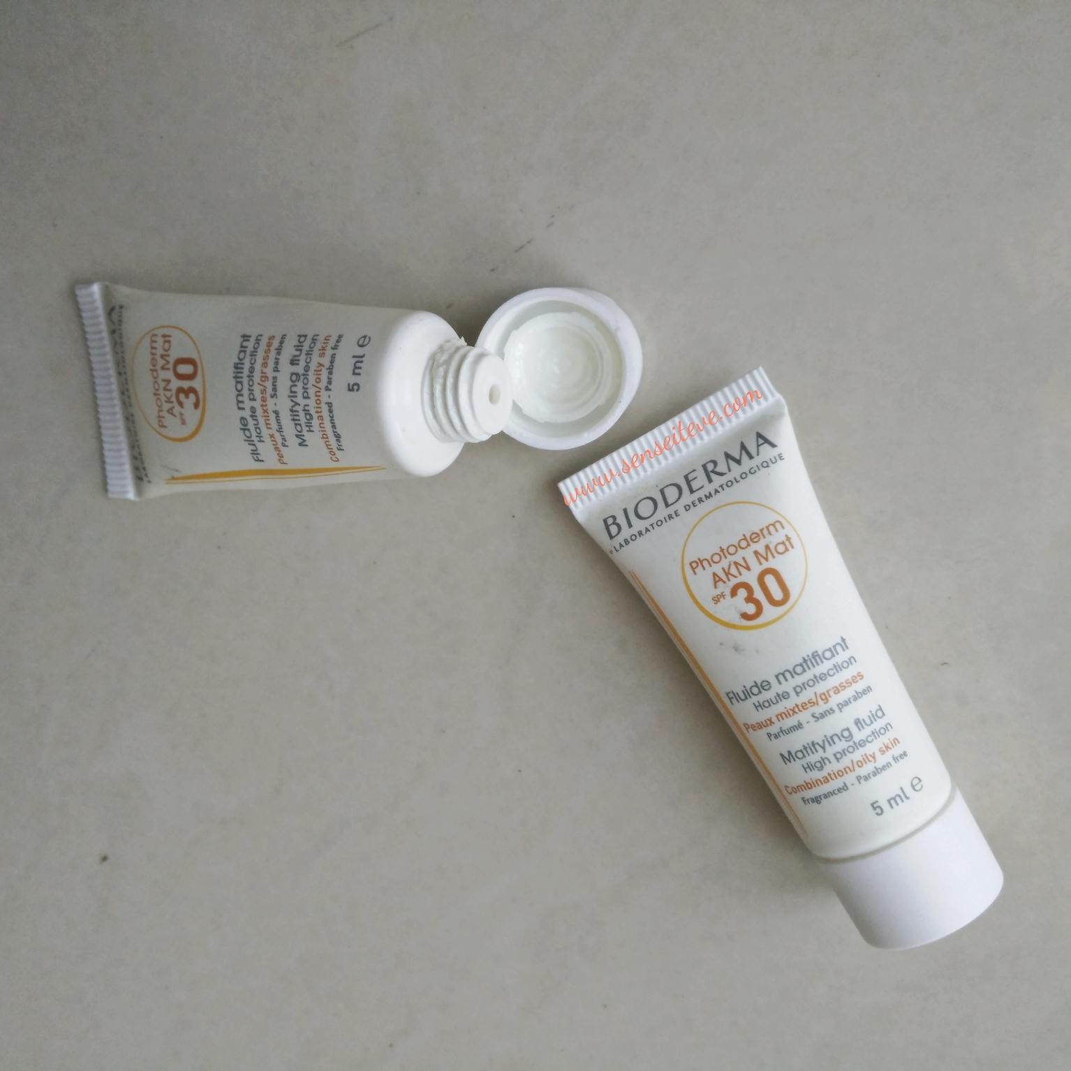Bioderma Photoderm AKN Mat Sunscreen SPF 30