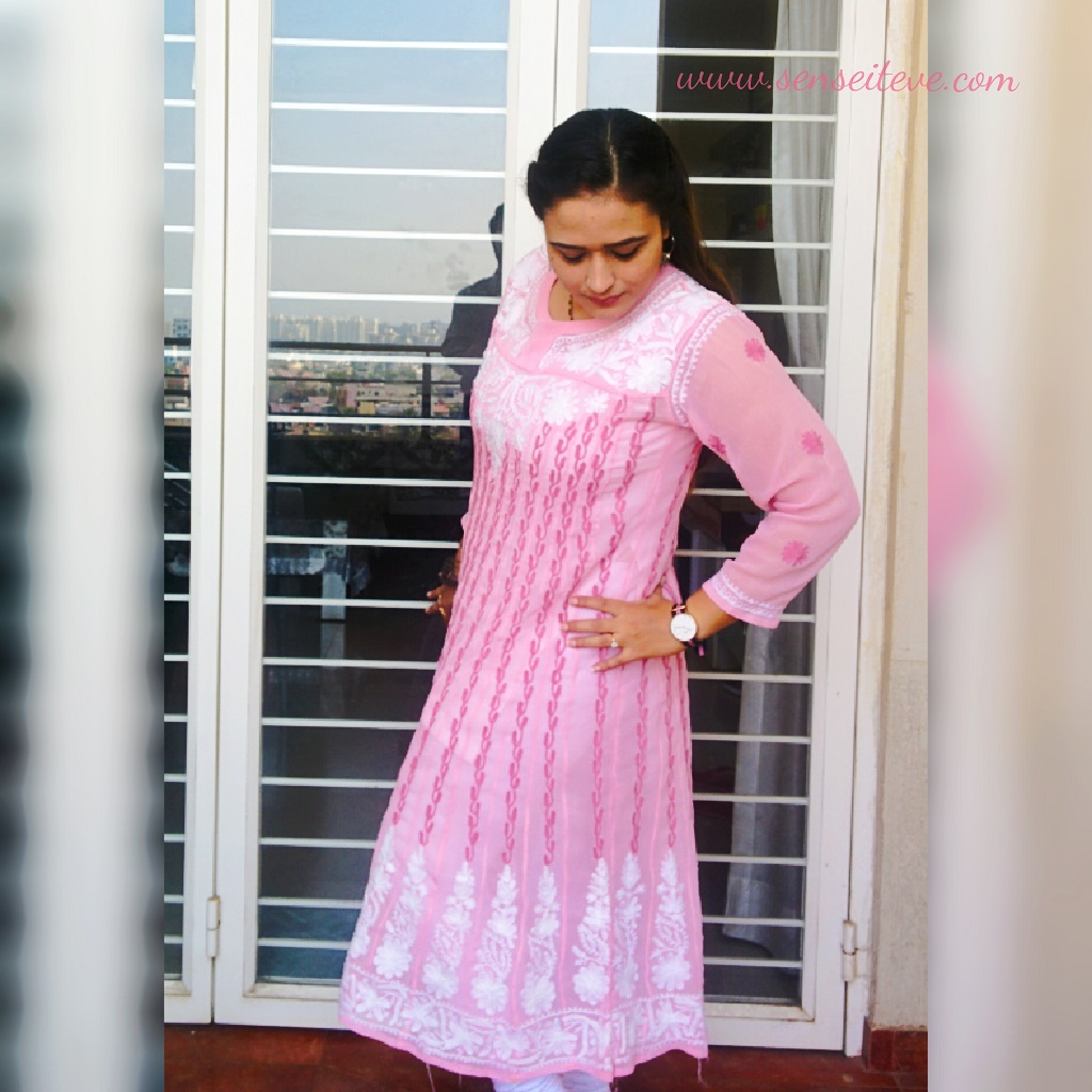 Pretty in Pink Ethnic Outfit