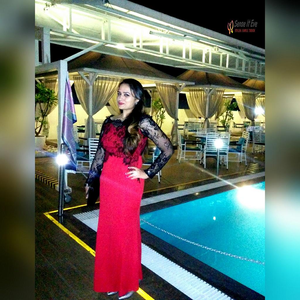OOTD Birthday dinner ft Dresslink Evening gown