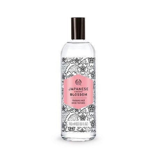 The Body Shop Fragrance Mist Japanese Cherry Blossom Review