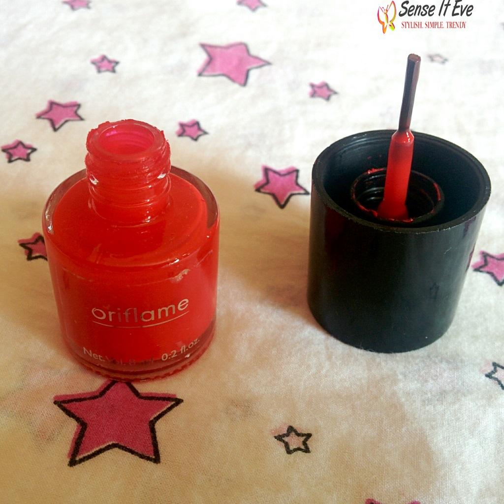 Oriflame Pure Colour Nail Polish Coral Red