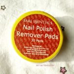 Bare Essentials Nail Polish Remover Pads