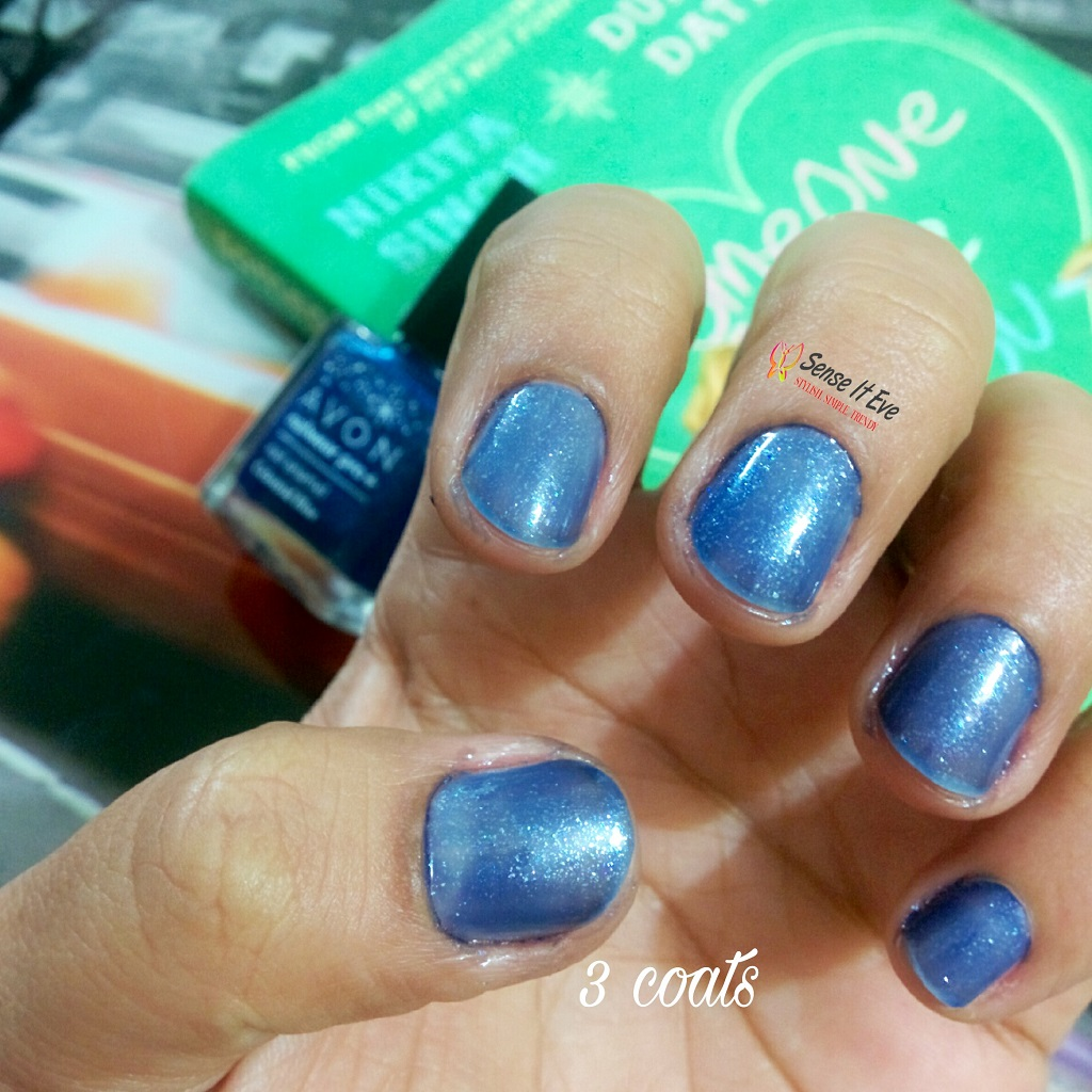 avon-nailwear-pro-nail-enamel-celestrial-blue-swatch-3-coats
