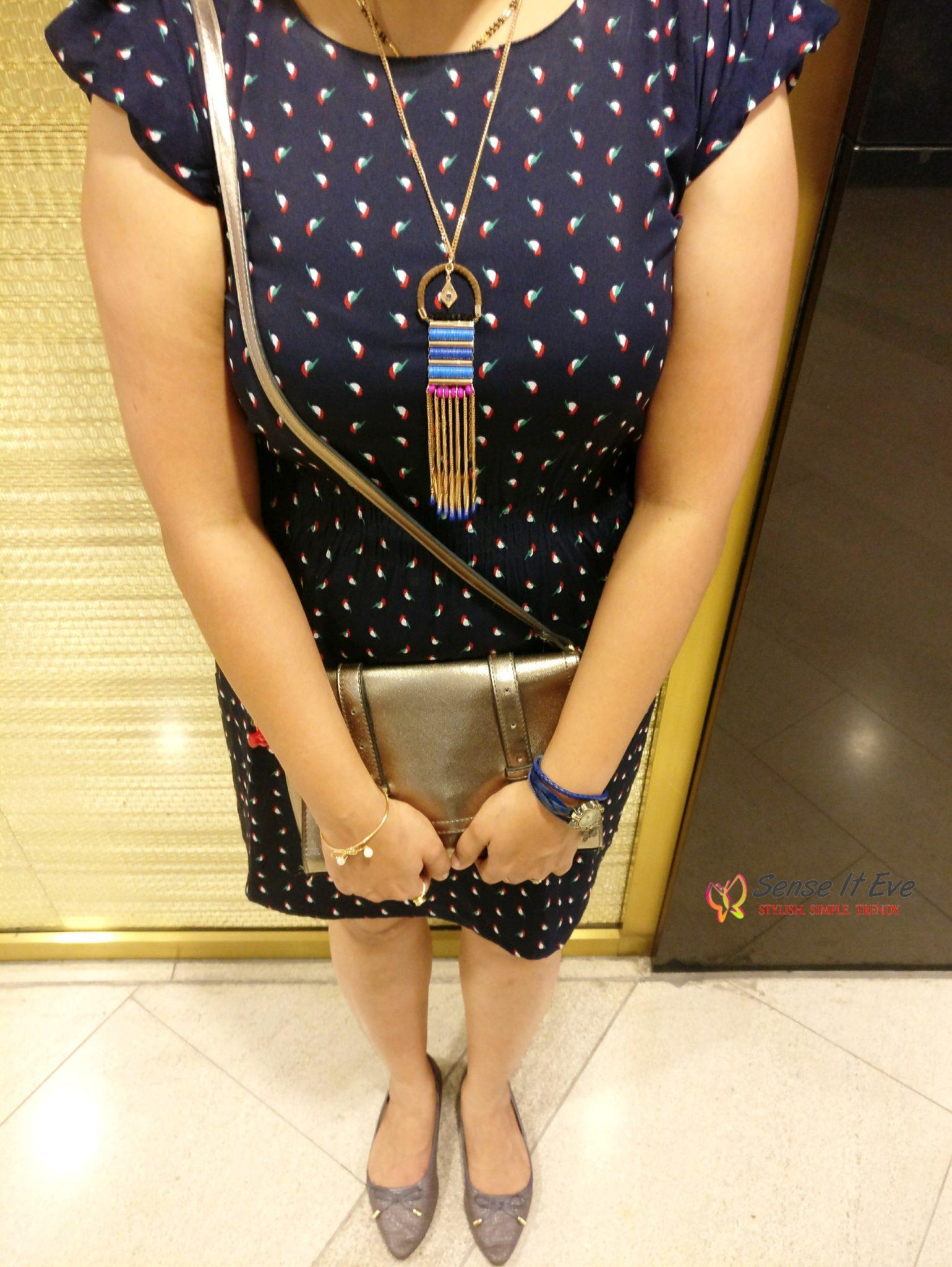 Summer Lookbook _ Printed Dress_ Accessories