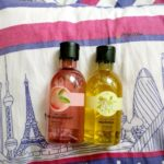 The Body Shop Shower Gel Review : Pink Grapefruit & Moringa