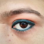 Lakme Eyeconic Kajal Green : Review, Swatches & EOTD