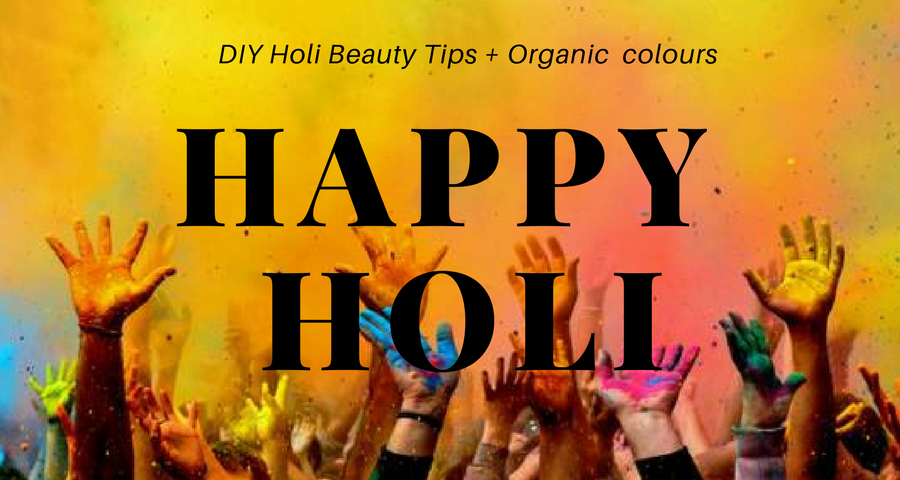 Let's Play Holi : DIYs and Tips