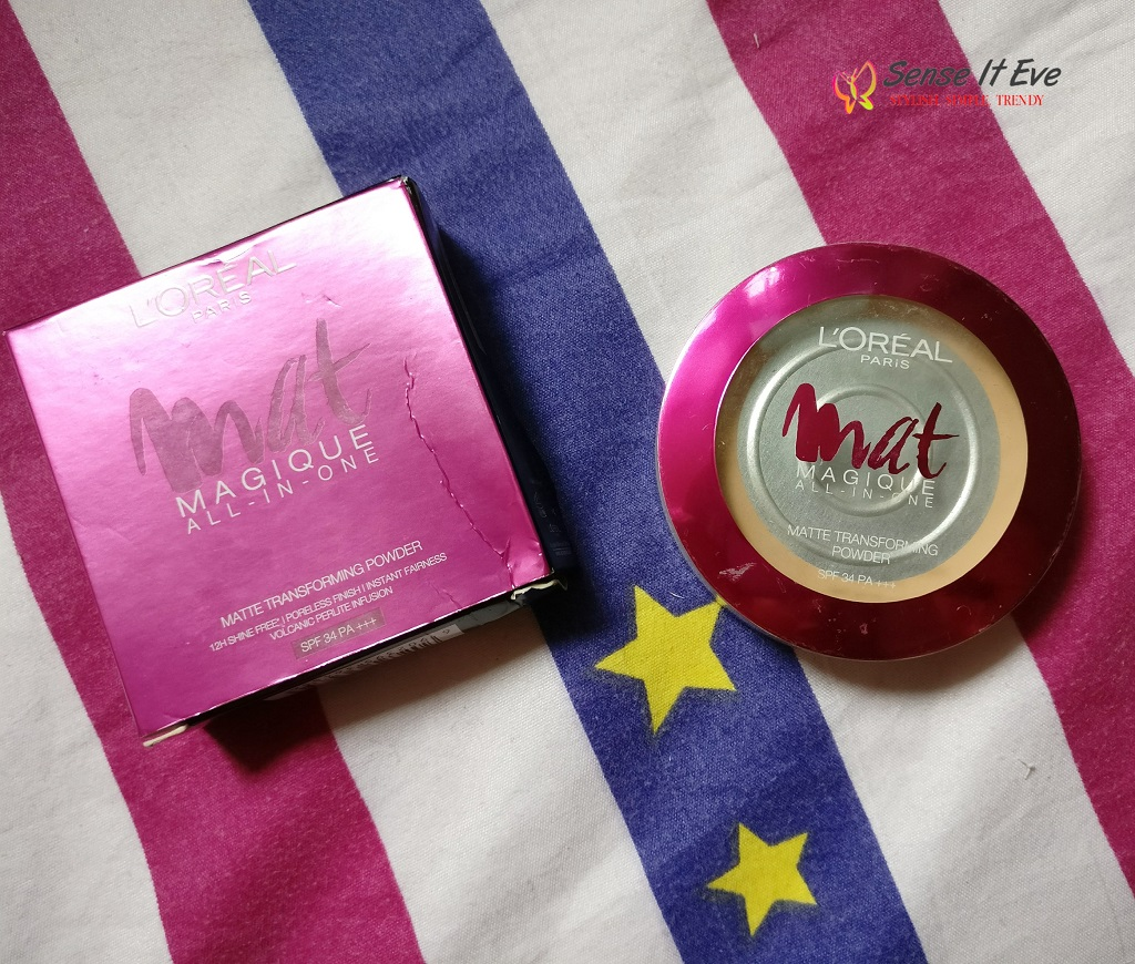 L'oreal Paris Mat Magique All-In-One Matte Transforming Powder Review