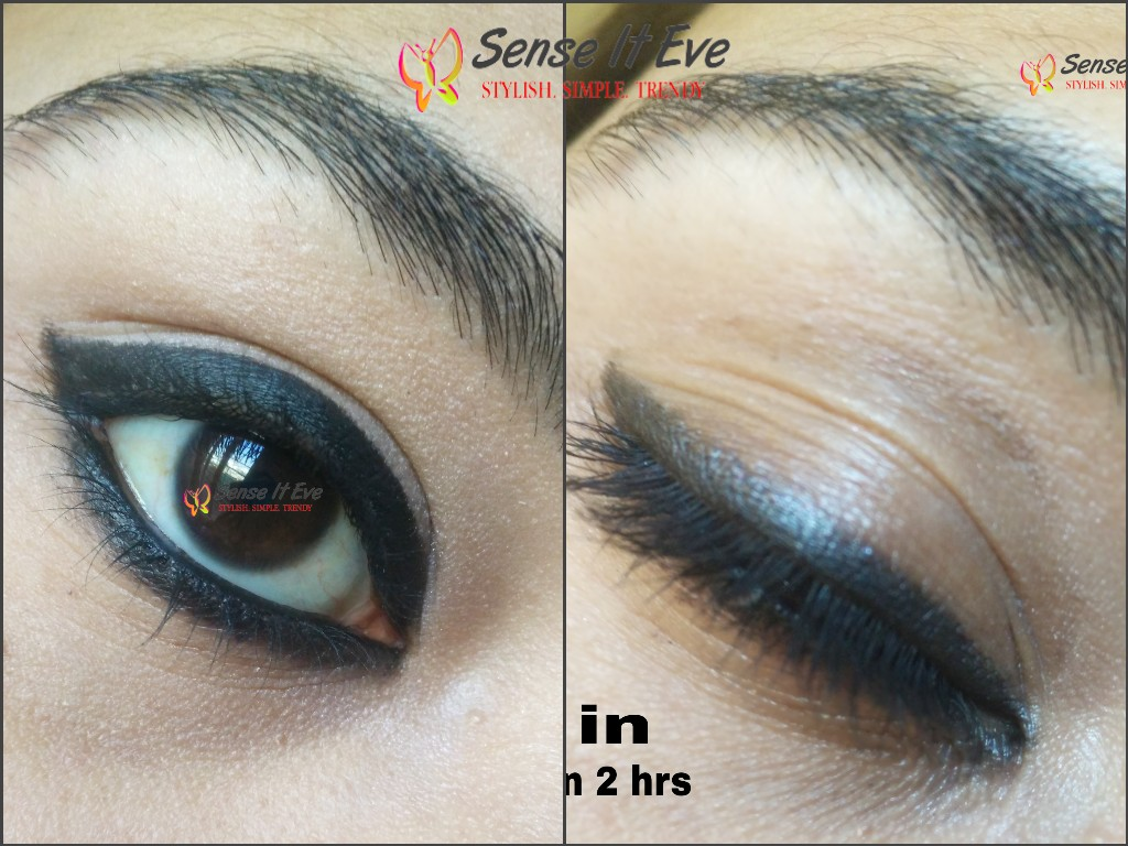 Lotus Herbals Colorkick Kajal Black : Review And Swatches