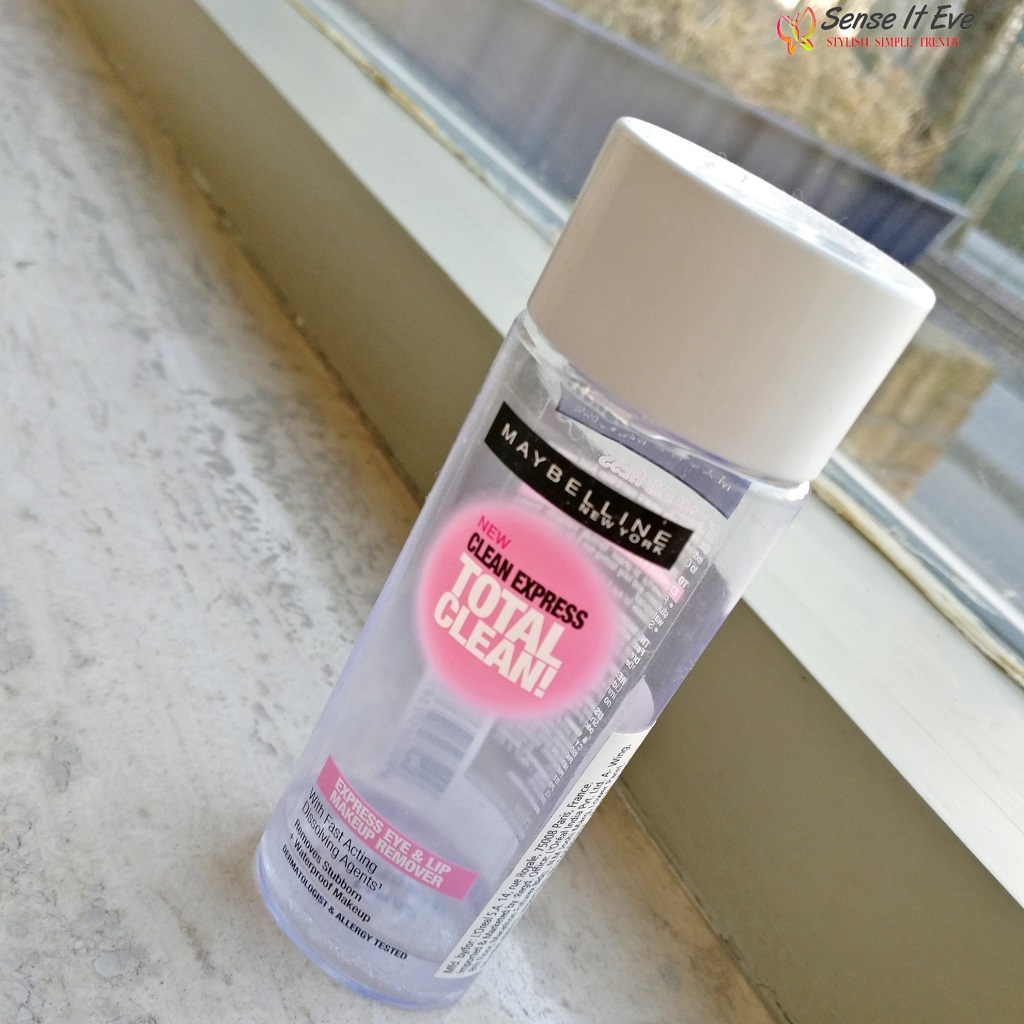 Maybelline New York Clean Express Total Clean Makeup Remover Review