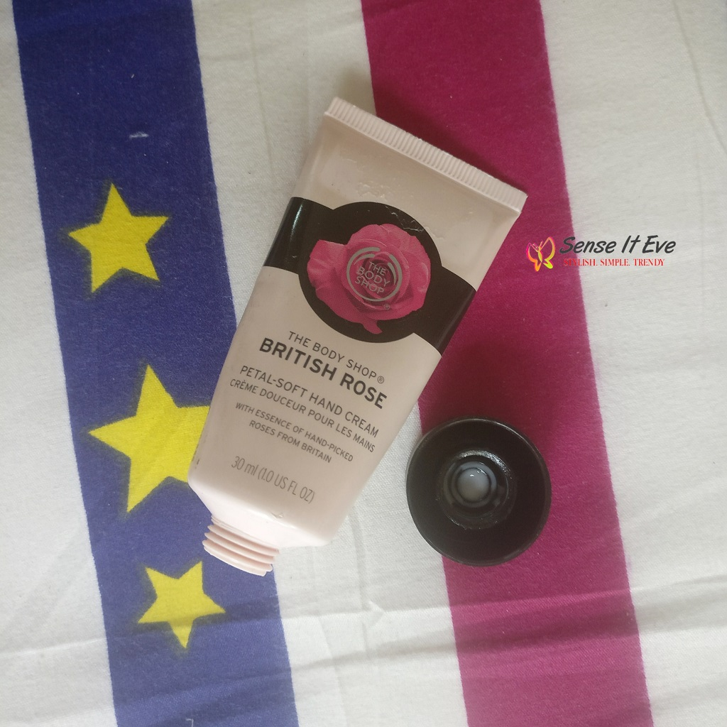 The Body Shop British Rose Petal-Soft Hand Cream Review